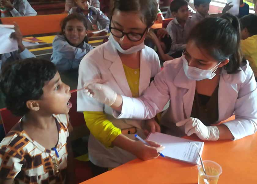 Dental Checkup Camp